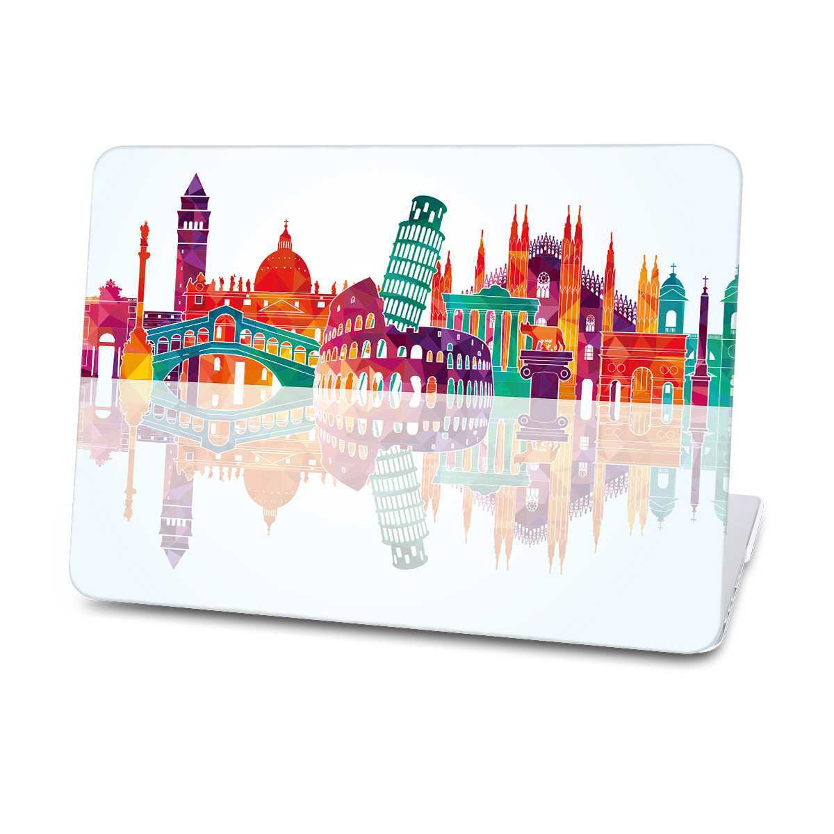 Italy skyline macbook case