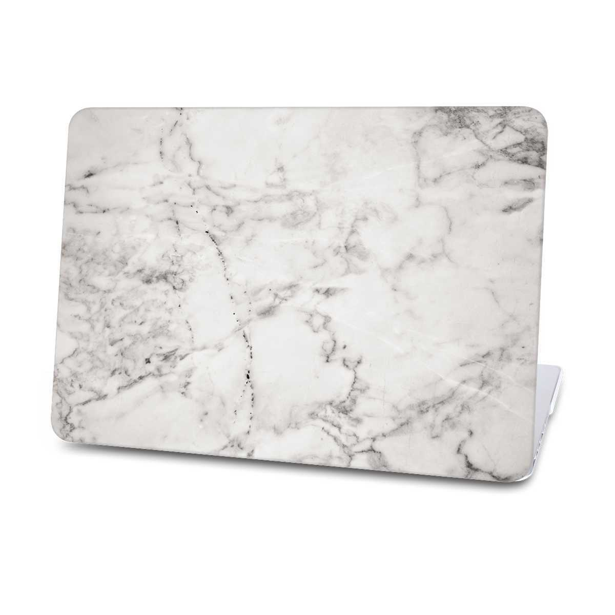 grey marble macbook cases