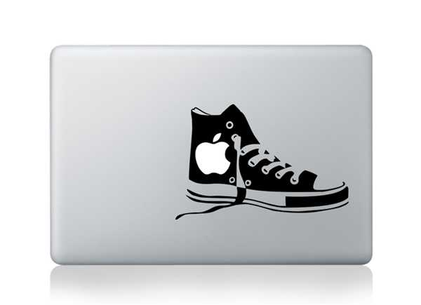 shoes macbook decals