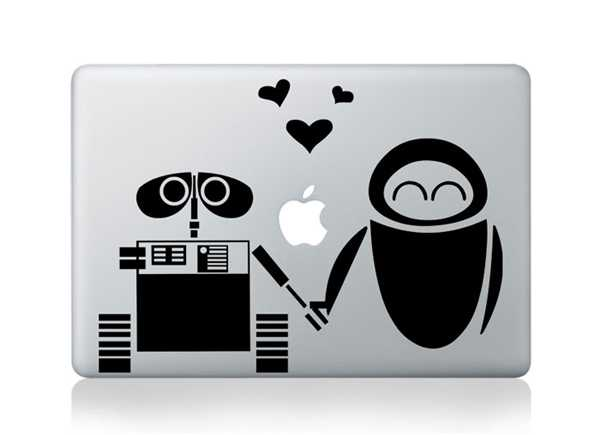 hand in hand macbook decals