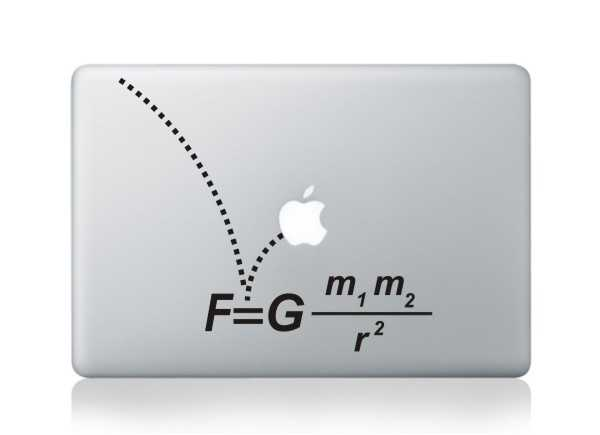 formula macbook decals
