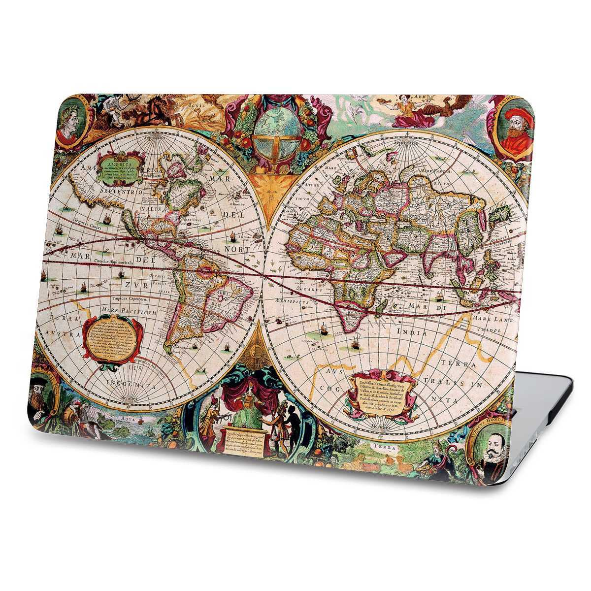 worldmap macbook case