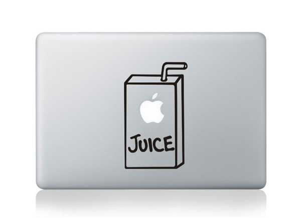 juice macbook decals