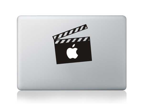 moive macbook decals