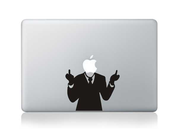 headless macbook decals