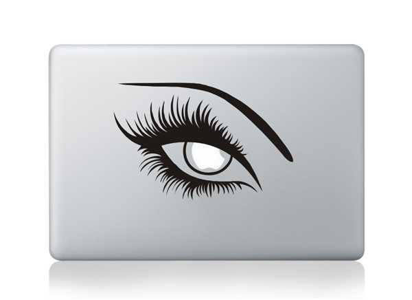 Eye macbook decals