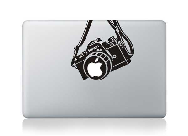 nikon macbook decals