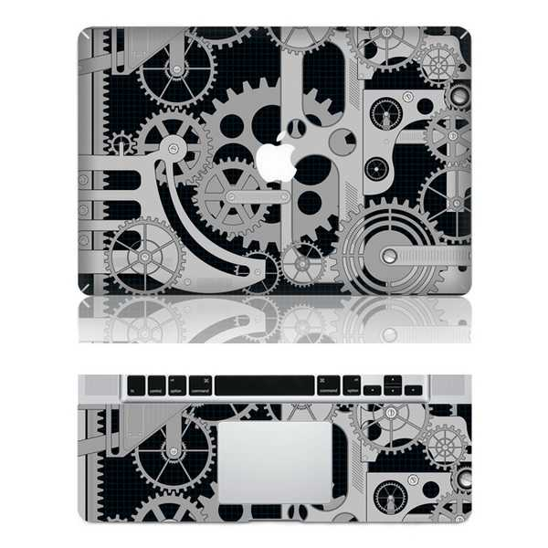 machine macbook skin decal