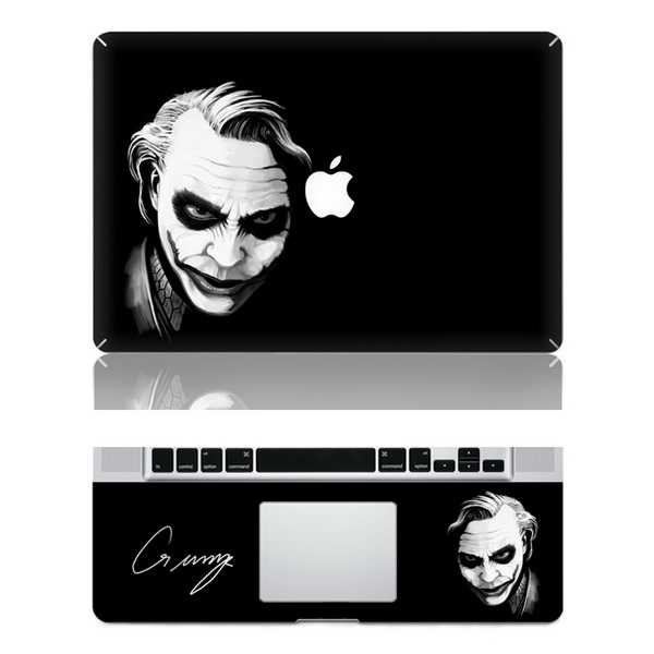Joker macbook skin decal