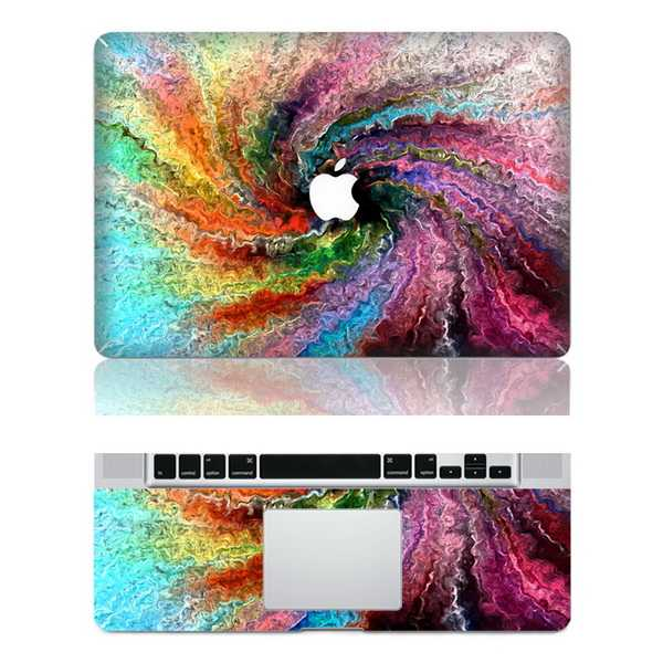 swirl macbook skin decal