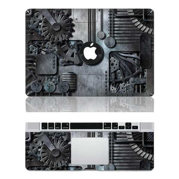 Gear macbook skin decal