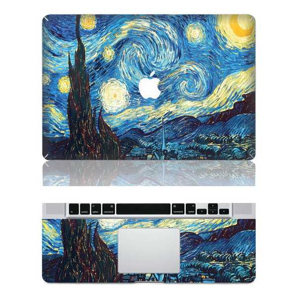 starrymacbook skin decal