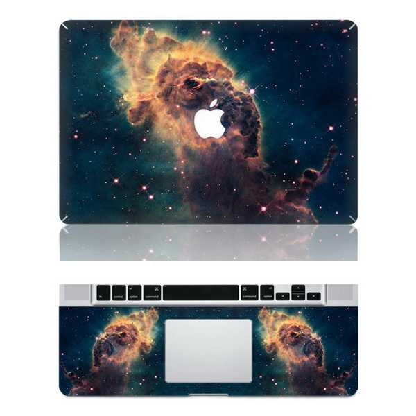 nebulae macbook skin decal