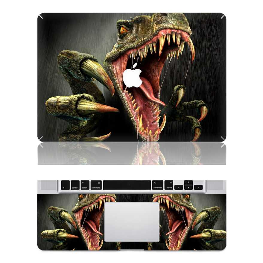 dinosaur macbook skin decal