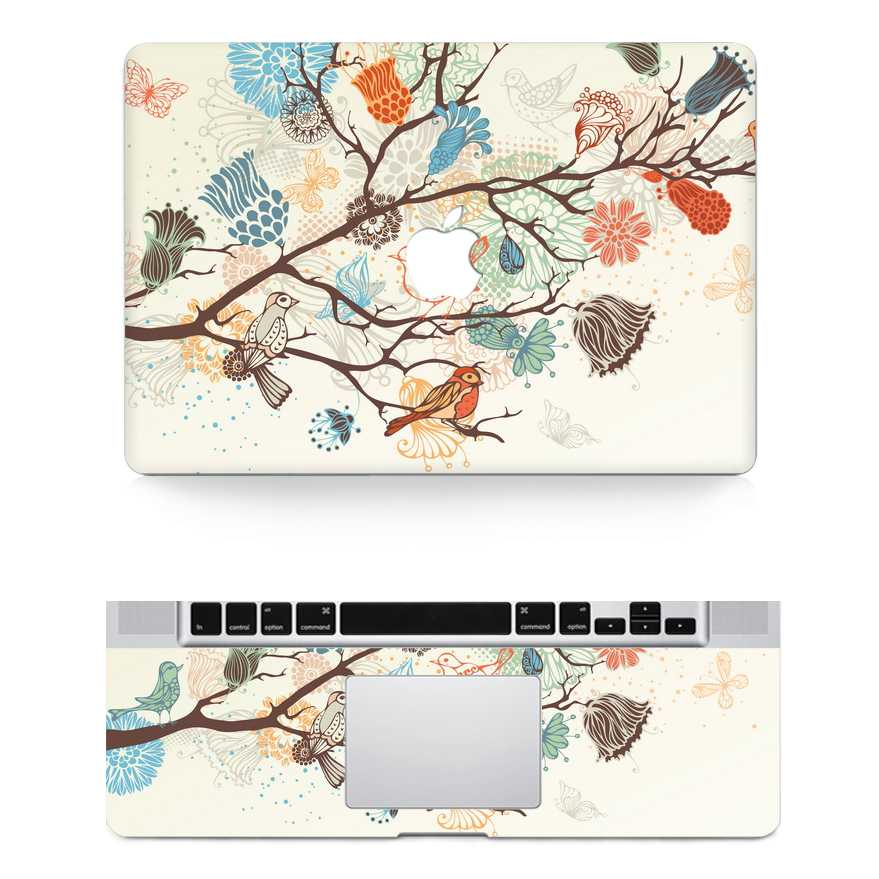 love tree macbook skin decal