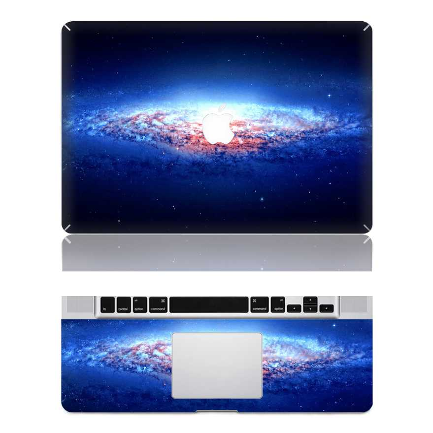 galaxy macbook skin decal