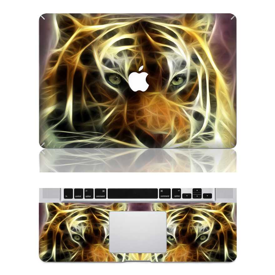 tiger macbook skin decal