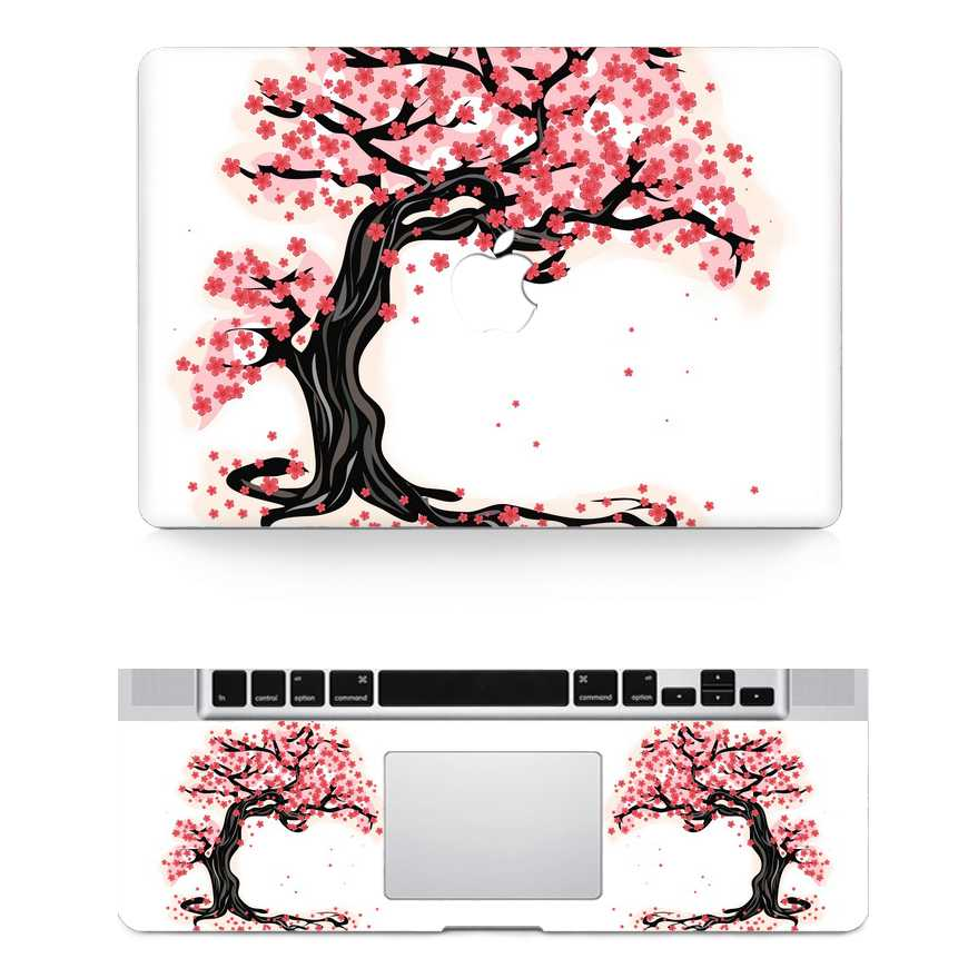 paint tree macbook skin decal