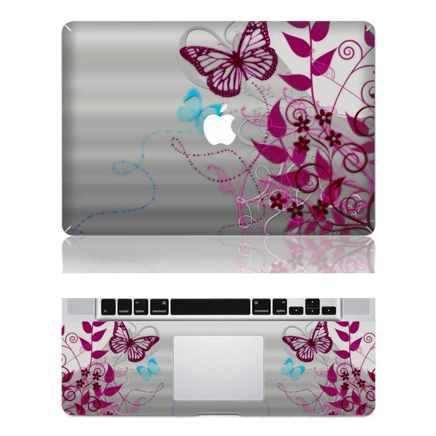 butterfly macbook skin decal