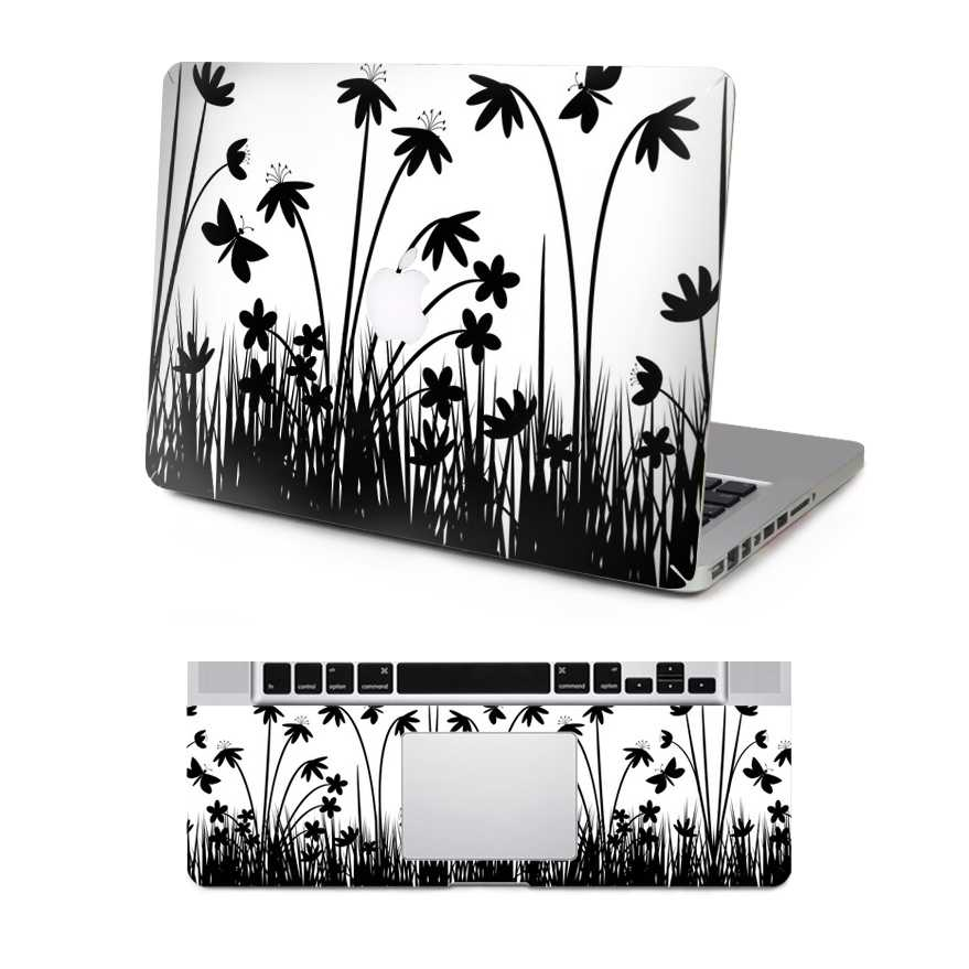 grass macbook skin decal