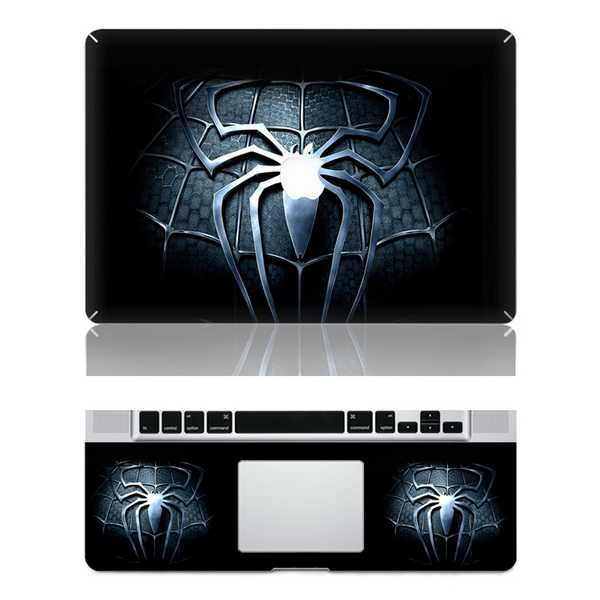 spider macbook skin decal