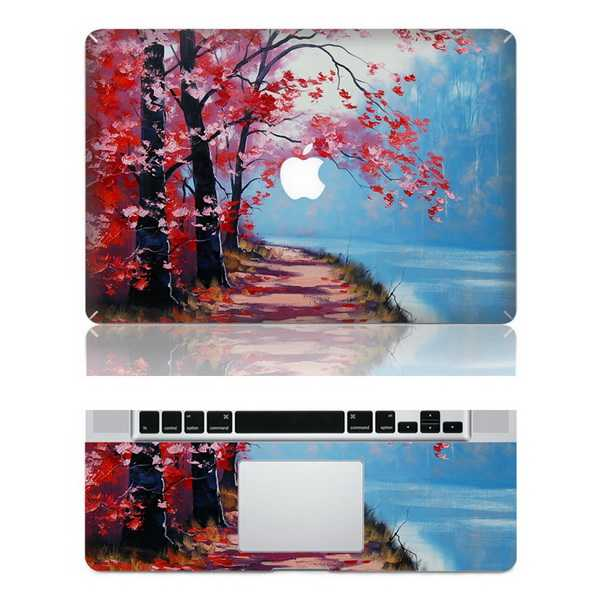 river macbook skin decal
