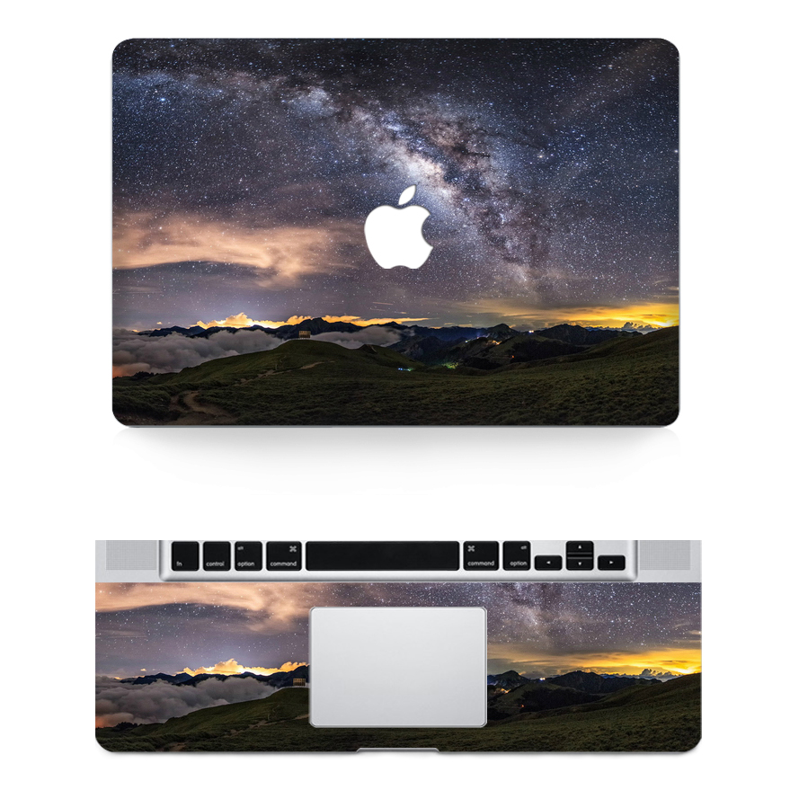 moutain macbook skin decal