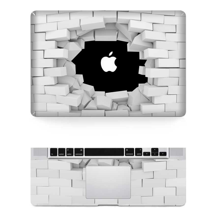 Riding macbook skin decal