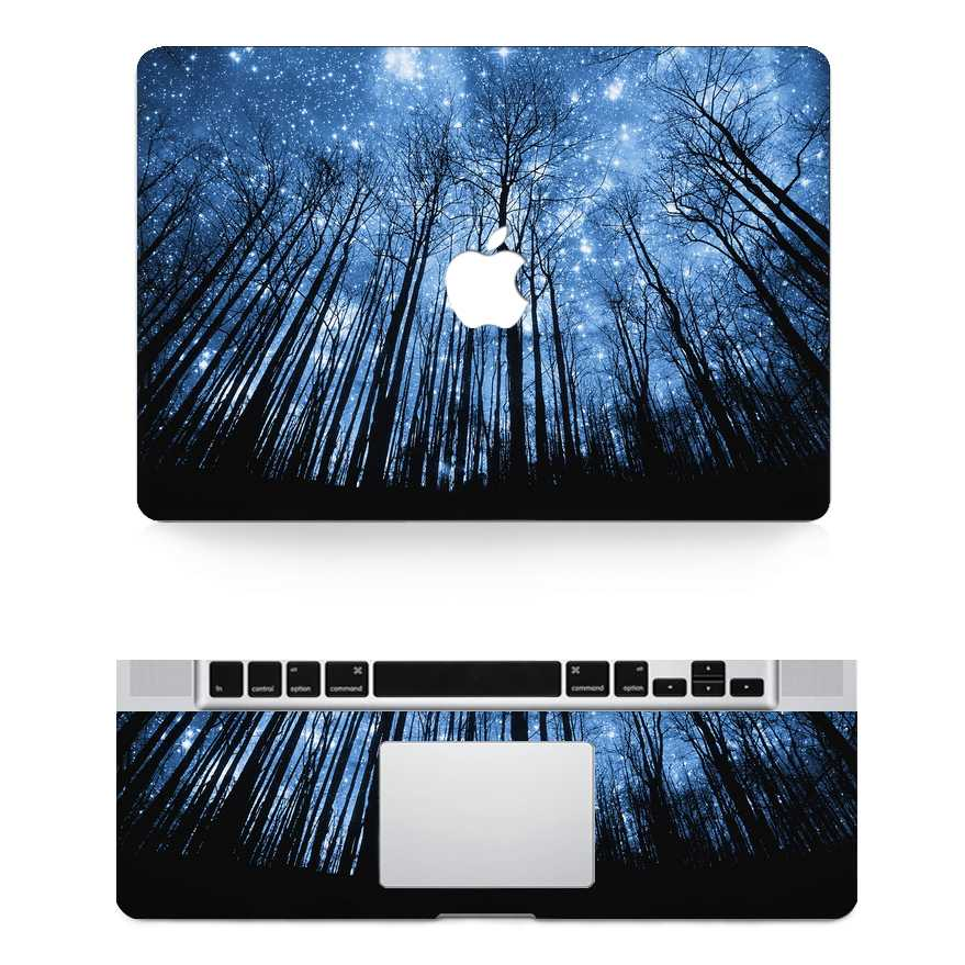 woods macbook skin decal