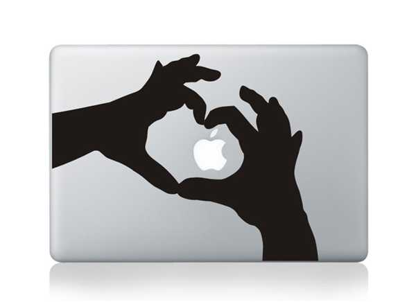 love sign macbook decals