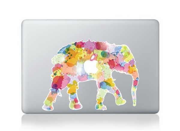 color elephant macbook decals