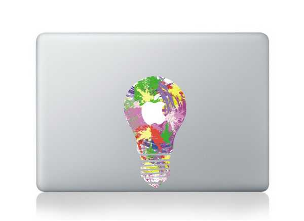 lamp macbook decals