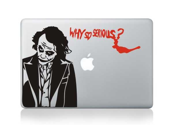 joker macbook decals